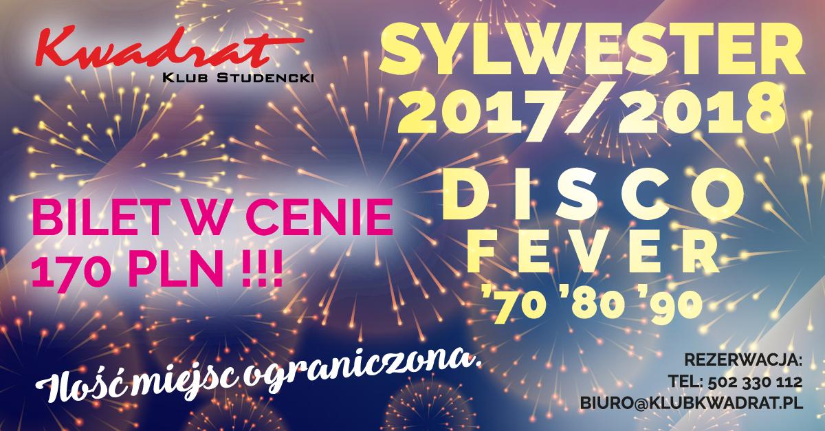 Sylwester 2017/2018 - Disco Fever