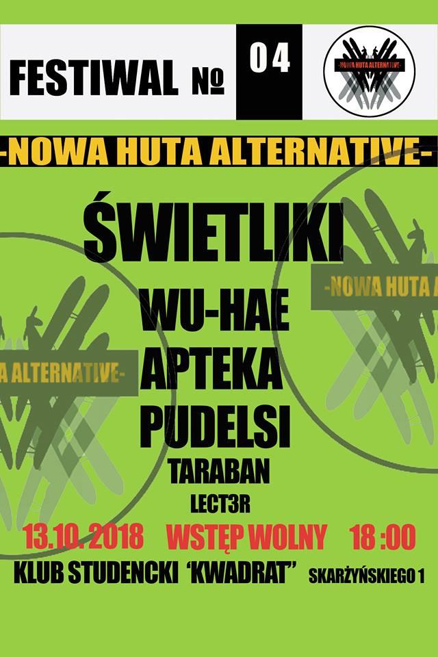 NOWA HUTA Alternative 04 Świetliki, Wu-Hae, Apteka, Pudelsi