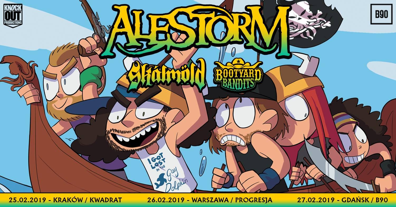 Alestorm + Skálmöld, Bootyard Bandits
