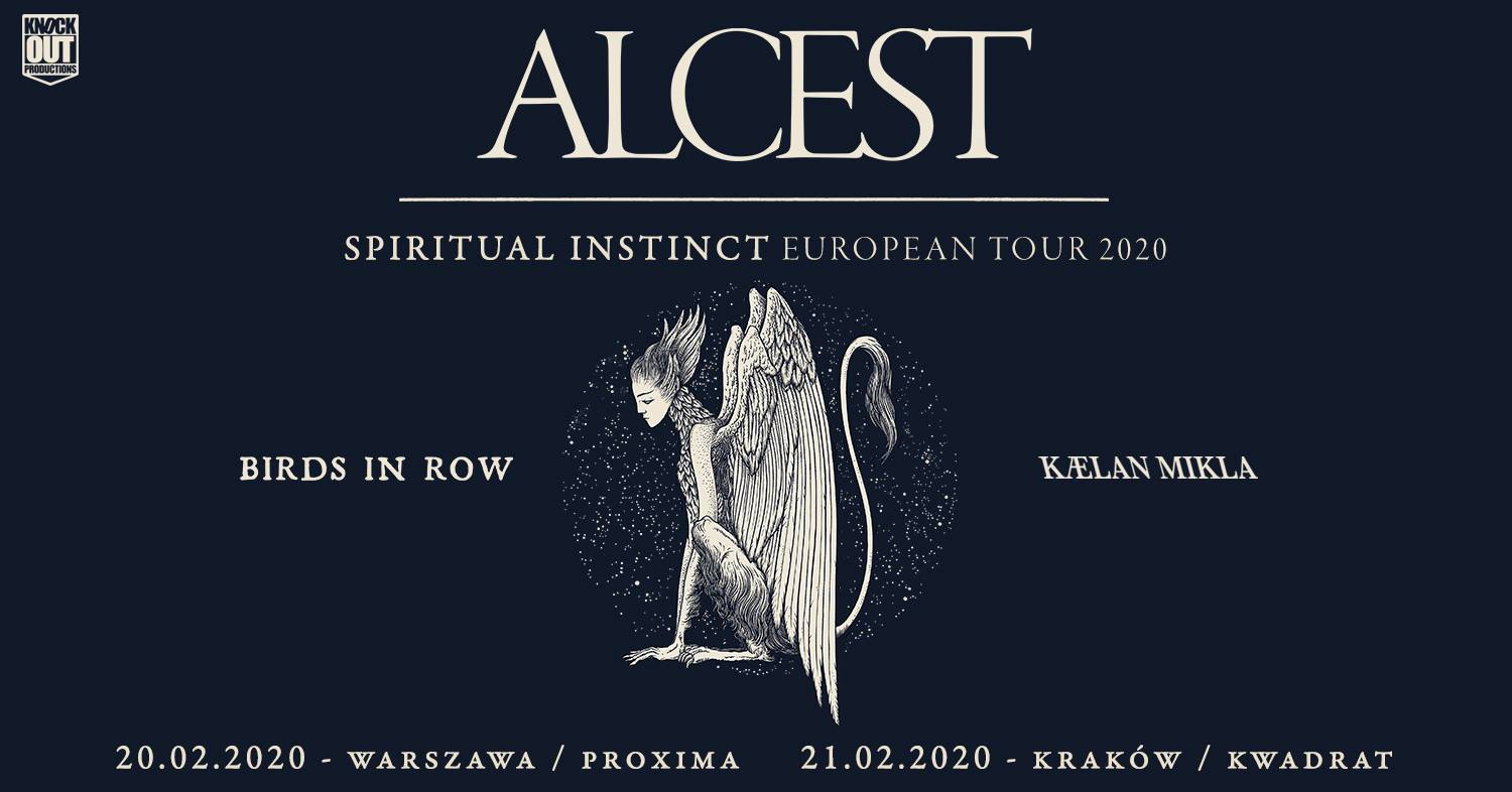 Alcest + Birds In Row, Kaelan Mikla