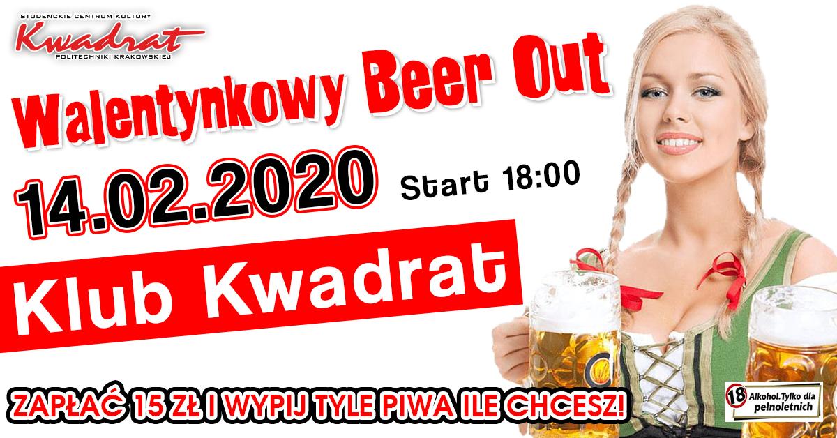 Walentynkowy Beer Out- Zapłać 15 zł i Wypij Tyle Piwa Ile Chcesz!