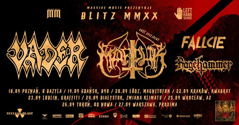 Blitz MMXX: Vader, Marduk + goście