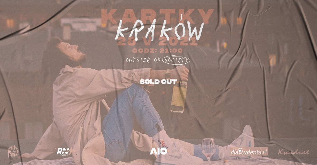 SOLD OUT: KARTKY w Krakowie #2 | OUTSIDE OF SOCIETY
